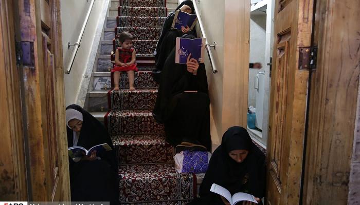 تصاویر احیای شب بیستوسوم ماه مبارک رمضان در استانها -۴