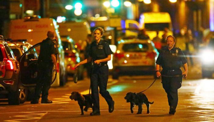 تصاویر حمله به مسلمانان در لندن
