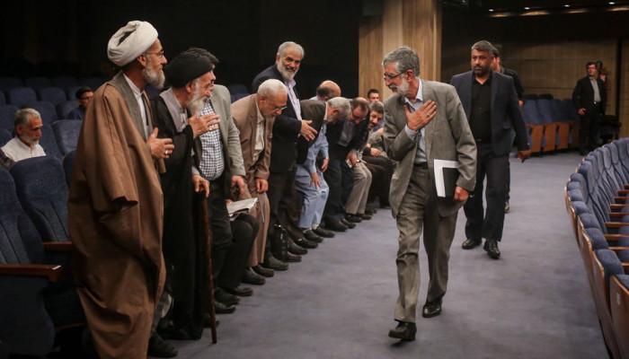 تصاویر مراسم تقدیر از کاندیدهای جبهه مردمی نیروهای انقلاب اسلامی