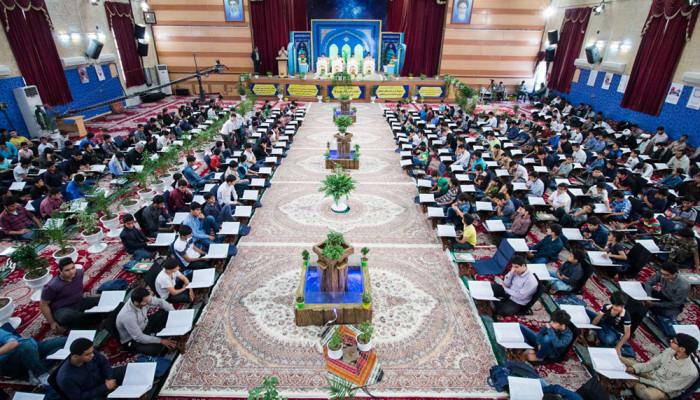 تصاویر محفل انس با قران نوجوانان در بوشهر