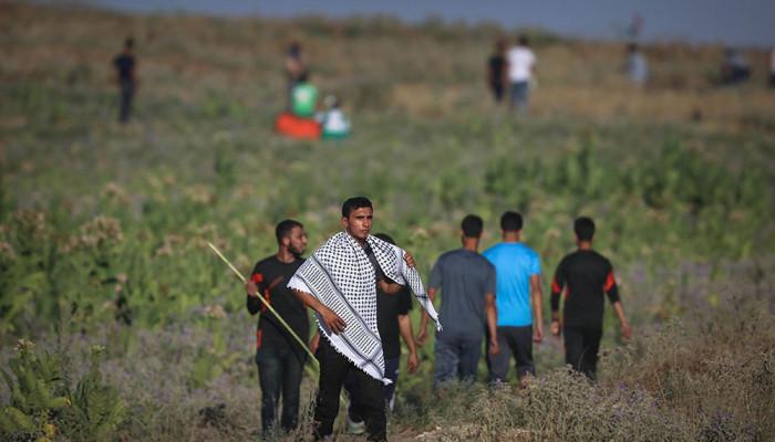 تصاویر اعتراض به قطع برق در نوار غزه