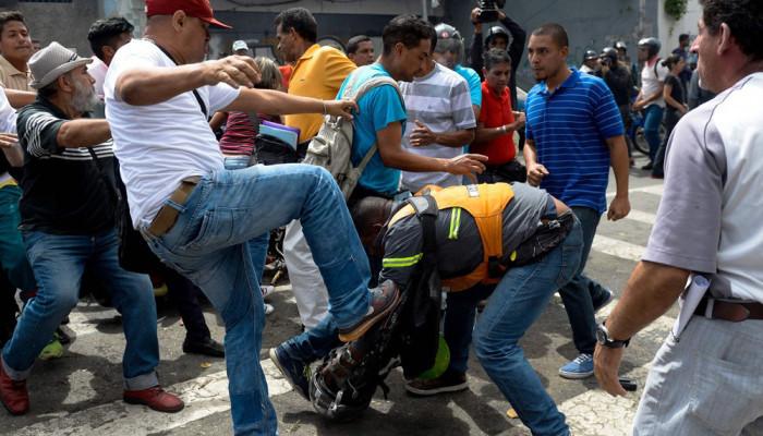 تصاویر اعتراضات مرگبار در کاراکاس