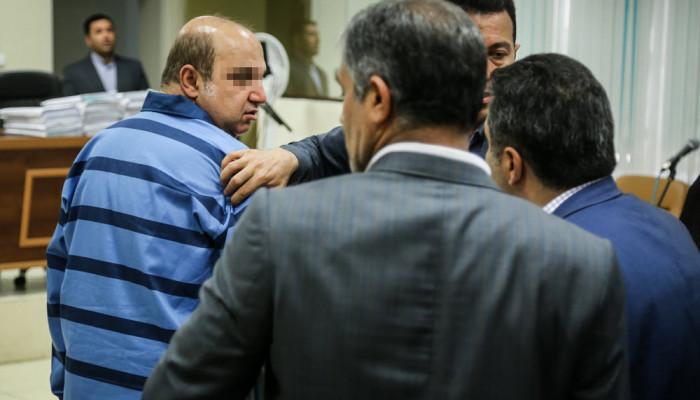 تصاویر دومین جلسه محاکمه همدستان بابک زنجانی در دادگاه انقلاب