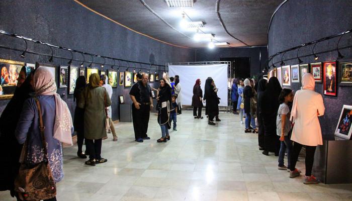 تصاویر نمایشگاه پیشگامان نقاشی