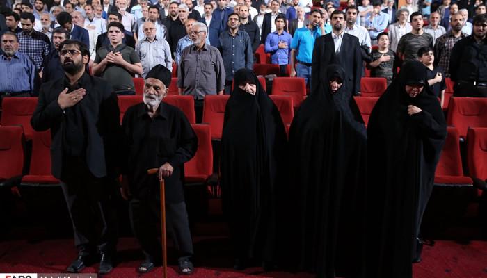 تصاویر مراسم چهلم سردار شهید حاج شعبان نصیری