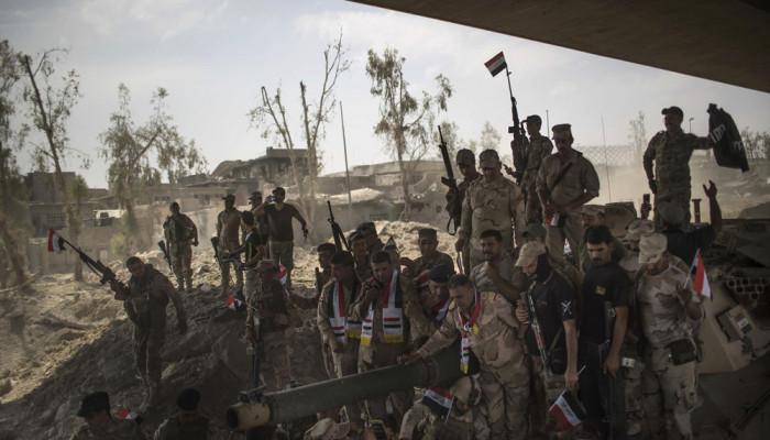 تصاویر جشن پیروزی در موصل