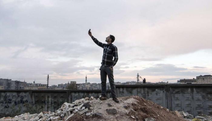 تصاویر سلفی در میدان جنگ