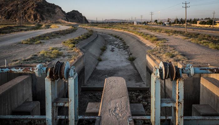تصاویر برنج کاری در رامجرد در نهمین سال خشکسالی فارس