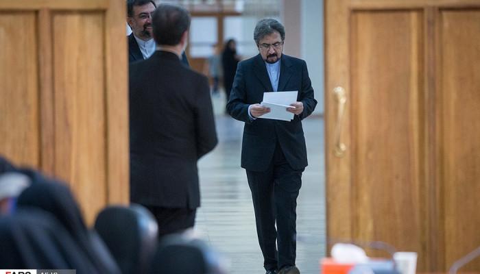 تصاویر نشست خبری سخنگوی وزارت امور خارجه  -  19 تیر 96