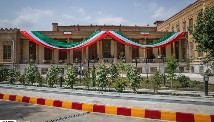 تصاویر افتتاح موزه بانک ملی ایران