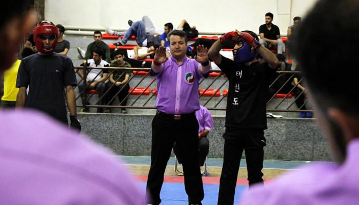 تصاویر مسابقات قهرمانی کونگ فو مردان بزرگسال کشور در سنندج