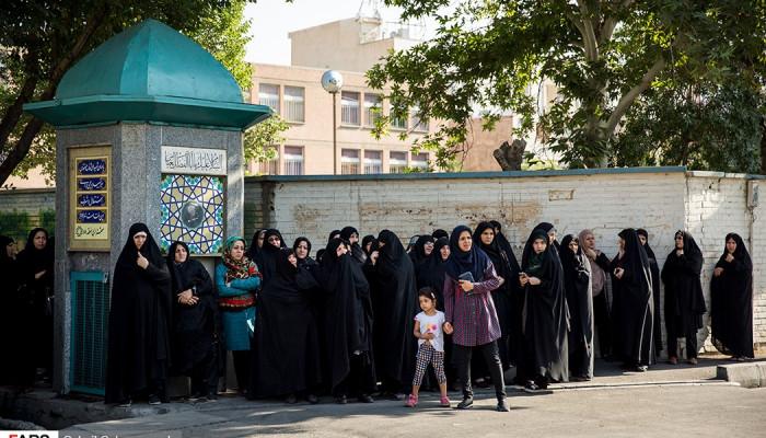 تصاویر تشییع شهید مدافع حرم بهرام مهرداد