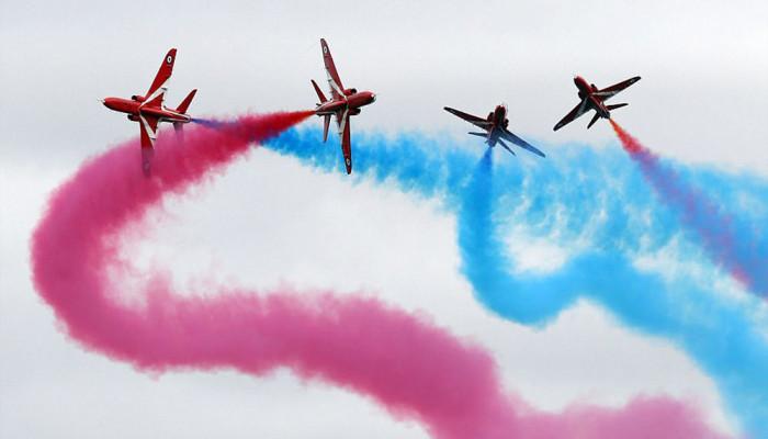 تصاویر بزرگترین جشنواره نمایش هوایی نظامی جهان