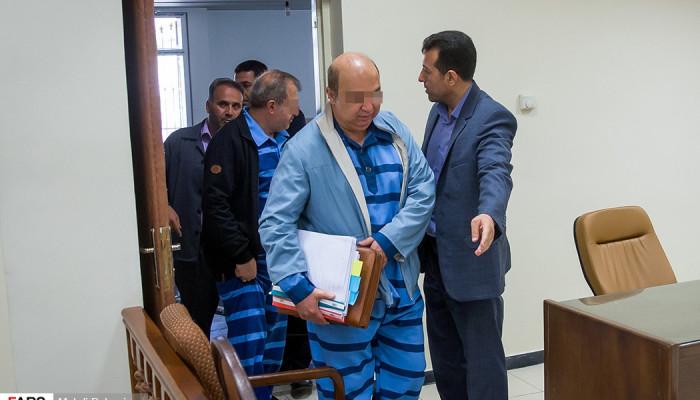 تصاویر سومین جلسه دادگاه فساد نفتی