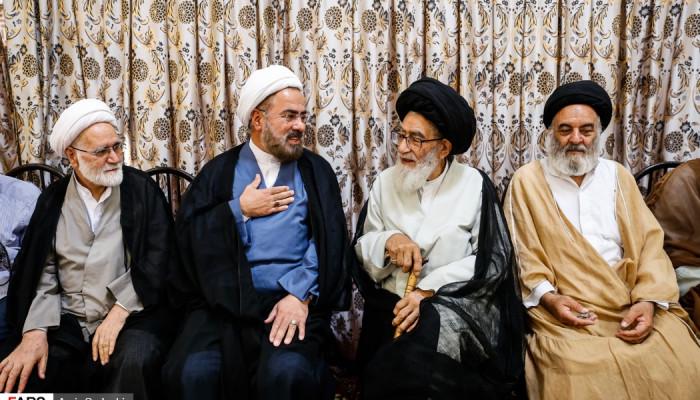 تصاویر افتتاح دفتر آیت الله جوادی آملی در استان آذربایجان شرقی