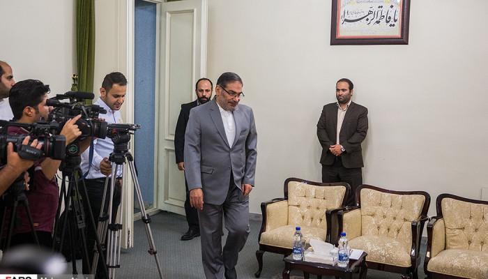 تصاویر دیدار دبیر شواری عالی امنیت ملی با جانشین اقلیم کردستان عراق