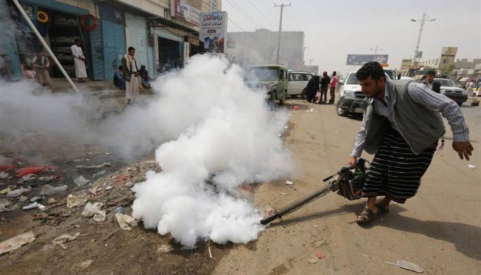 تصاویر گسترش وبا در یمن