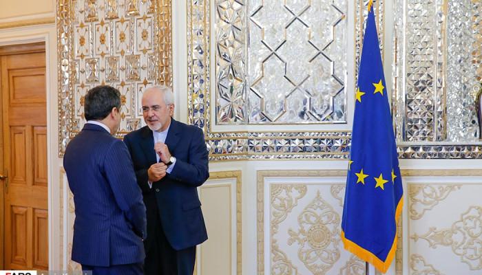 تصاویر دیدار  فدریکا موگرینی با محمدجواد ظریف