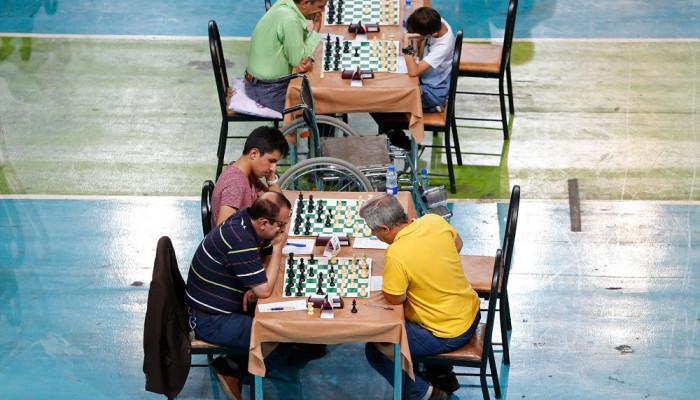 تصاویر مسابقات شطرنج انتخابی تیم ملی