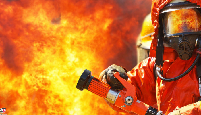 مراقبت هنگام آتش سوزی