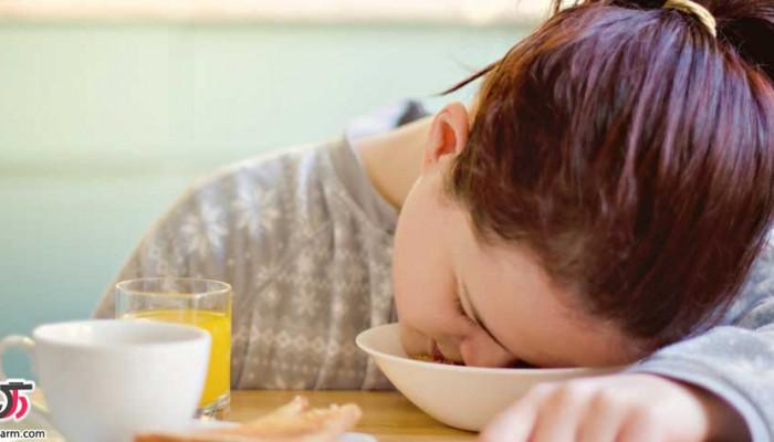 علت سنگینی معده بعد از خوردن غذا چیست؟