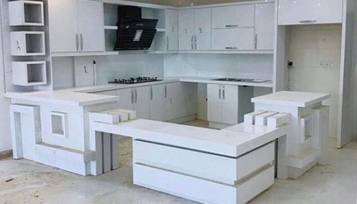 نمونه هایی زیبا و شیک از جدیدترین مدل کابینت آشپزخانه 2017