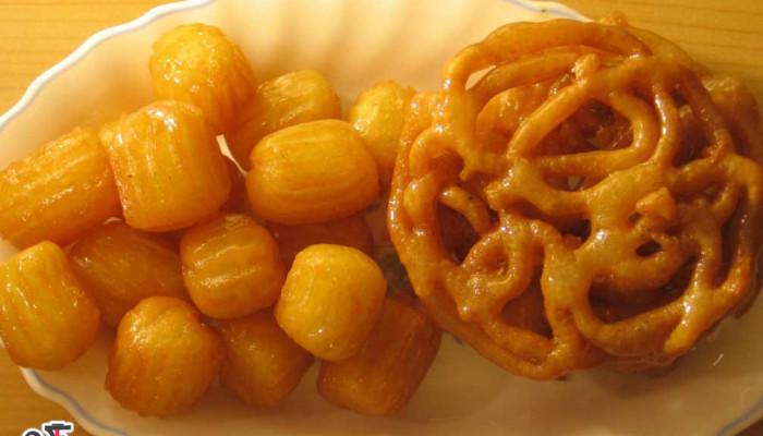 طرز تهیه زولبیا و بامیه آسان و خوشمزه ویژه ماه مبارک رمضان 96