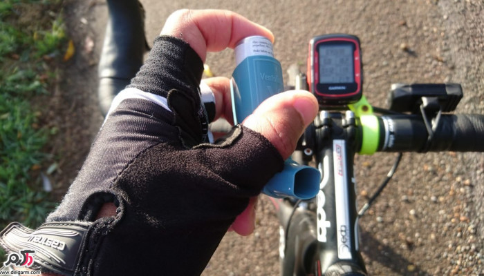 علت تنگی نفس و سوزش گلو بعد از دوچرخه سواری