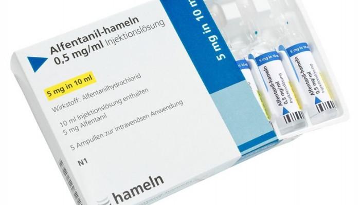موارد مصرف داروی آلفنتانیل(داروی كمكی برای حفظ بیهوشی)