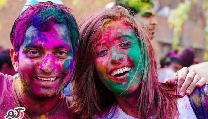 هولی؛جشن رنگ ها در هند (Holi Festival)