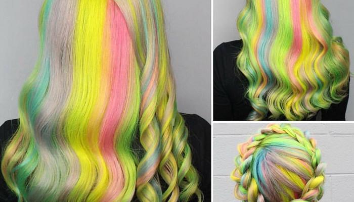 ترکیب رنگ مو   زیباترین فرمول رنگ موهای ترکیبی