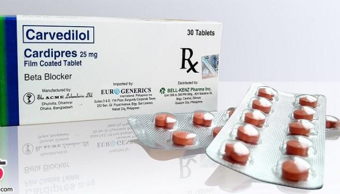 موراد مصرف قرص کارودیلول و عوارض جانبی این دارو