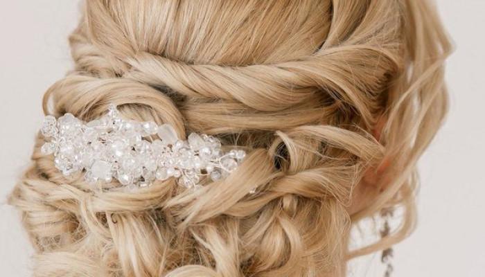 شینیون موی عروس مدل 2018 اروپایی