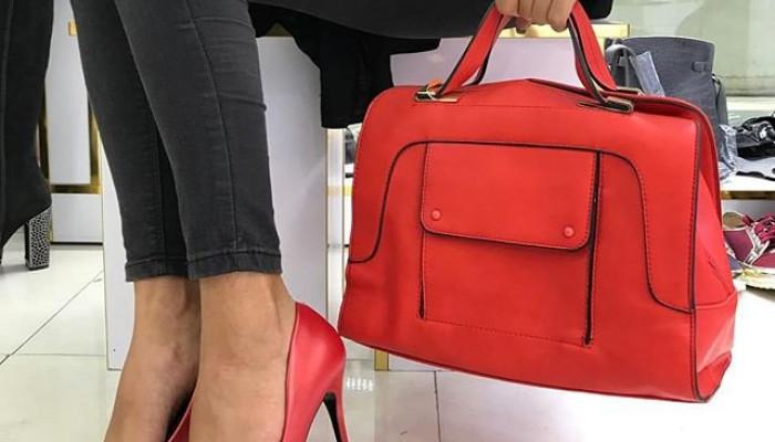 ست کیف و کفش زنانه مجلسی 2018