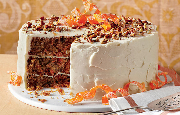 طرز تهیه کیک هویج و گردو خوشمزه و عالی امتحان شده