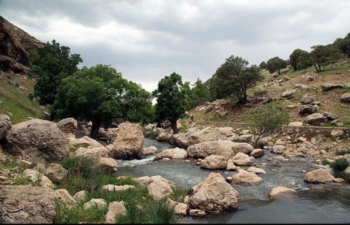 تصاویری زیبا از آبشار گریت در استان لرستان | خرداد 97
