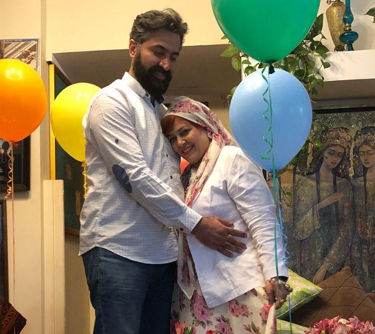 تصاویری از سالگرد ازدواج بهاره رهنما و همسرش