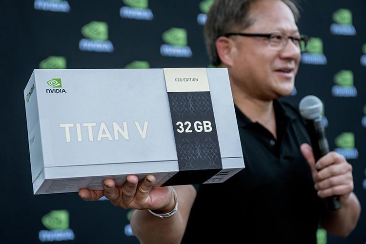 Titan V CEO Edition کارت گرافیک جدید انویدیا