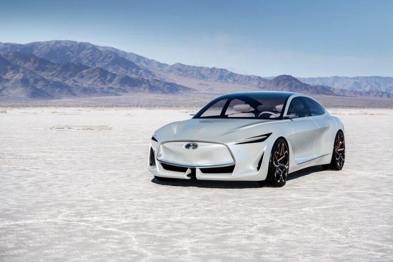 محدوده حرکتی بالا خودروهای الکتریکی اینفینیتی