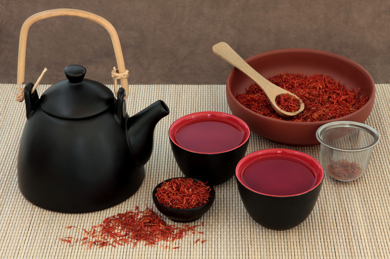 خواص عالی چای زعفران برای سلامتی
