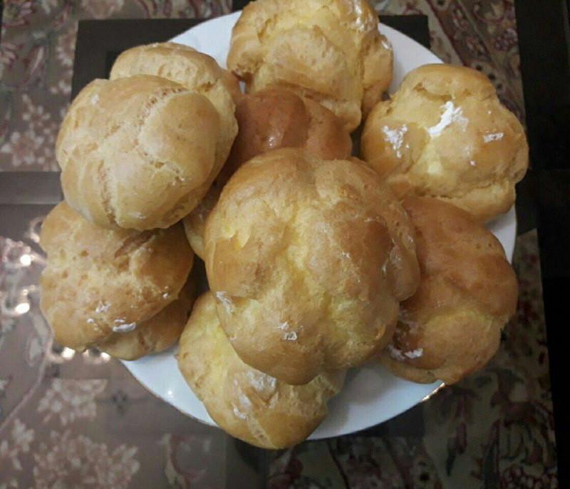 آموزش پخت نان خامه ای در منزل