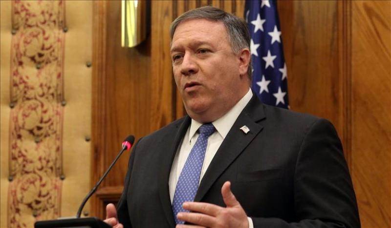 سخنان وزیر امور خارجه امریکا قبل از اعلام تحریمهای مجدد ایران