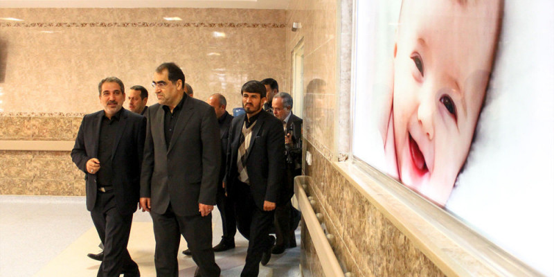 تصاویر سفر سید حسن قاضی زاده هاشمی وزیر بهداشت و درمان به تبریز