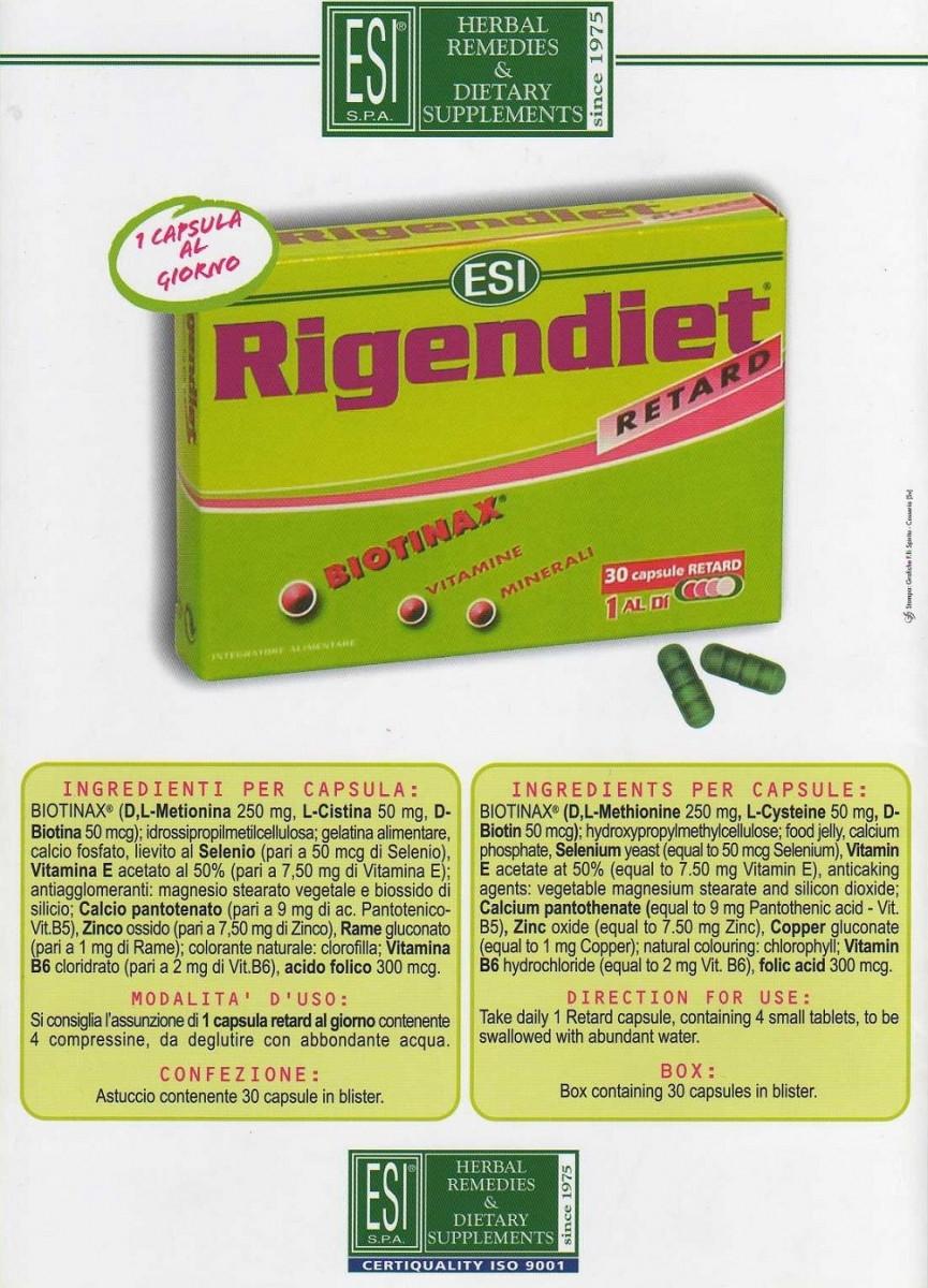 آشنایی با قرص ضد ریزش موی ریجن دایت (Rigendiet)