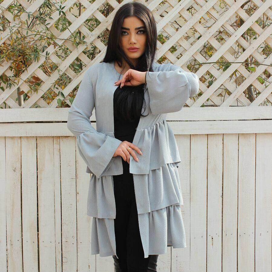 مدل مانتو عید جدید و شیک 97 - 2018 مزون ایرانی