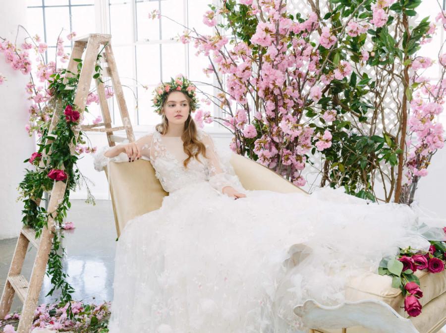 گالری مدل لباس عروس جدید سال 97 ، لباس عروس اروپایی شیک 2018