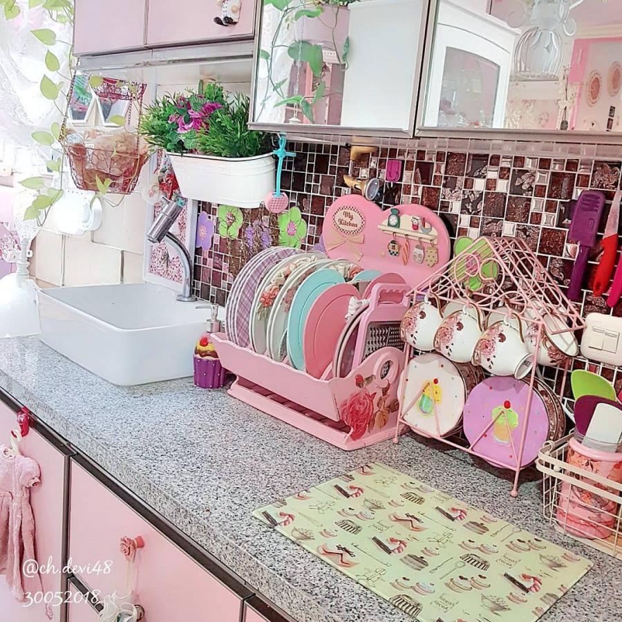 طراحی دکوراسیون آشپزخانه عروس خوشگل 2018 - 97