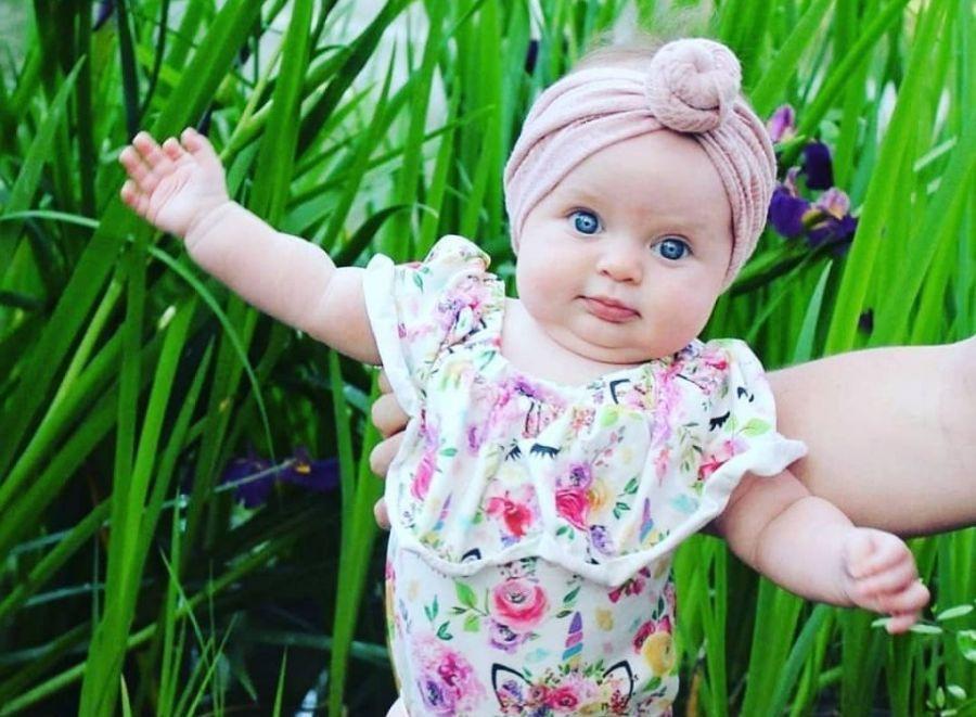 کالکشنی از لباس نوزاد دخترانه مجلسی با طرح های جدید و بانمک