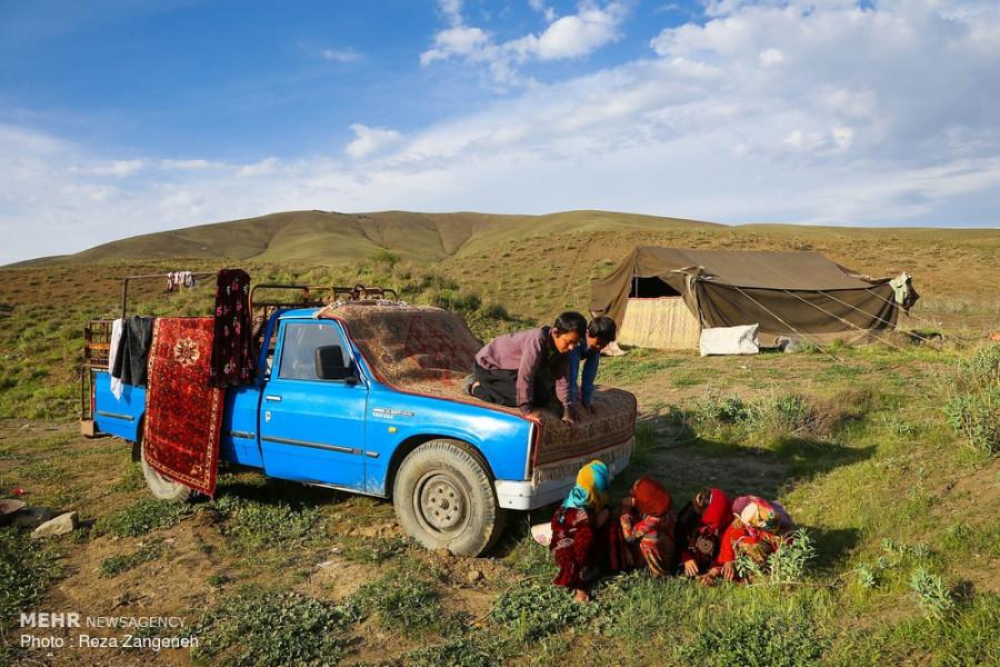 زیباییهای زندگی کوچ نشینان استان همدان / تصاویر