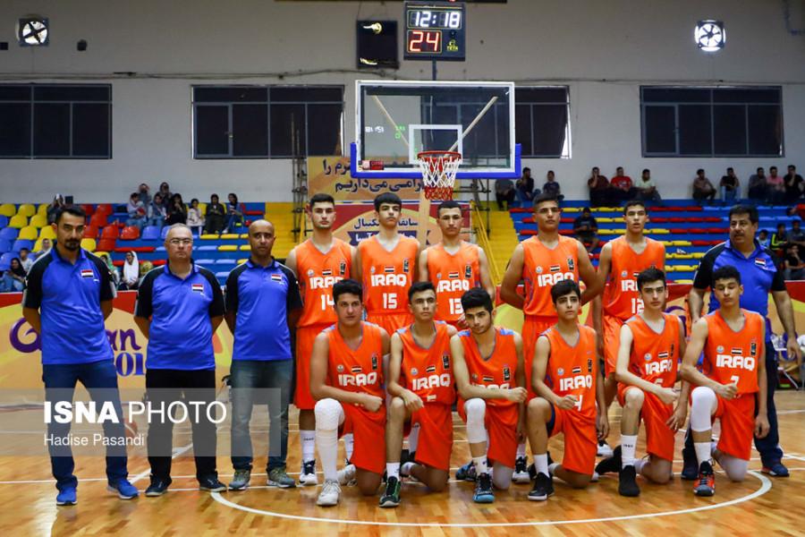 نخستین پیروزی بسکتبالیستهای نوجوان ایران در مسابقات غرب آسیا/ تصاویر